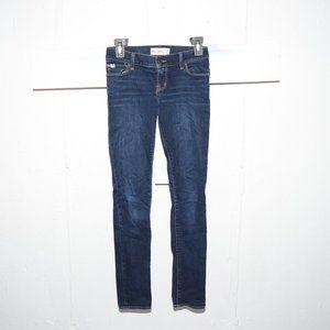 Abercrombie skinny girls jeans size 14 Slim